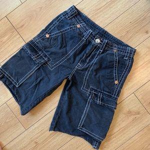 True Religion Men's Cargo Pants Size 32